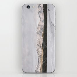 Frozen Lake Views - Landscape Photography iPhone Skin