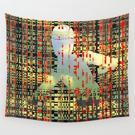digital quicksand Wall Tapestry