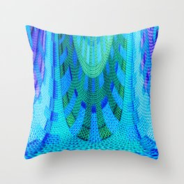 Abstract 39 Throw Pillow