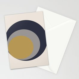 Inverted Circles Stationery Cards