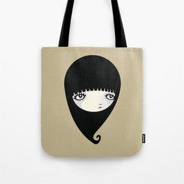 Black Drop Tote Bag