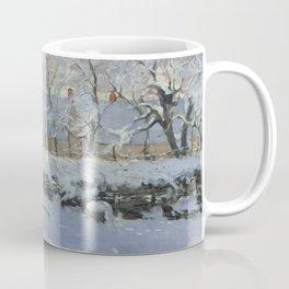 Monet, The Magpie (La Pie) (Die Elster) 1868-1869 Coffee Mug