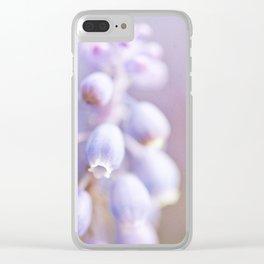 Purple Love Clear iPhone Case