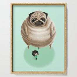 The Pug Serving Tray