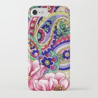 deco iPhone & iPod Cases featuring Floral Deco by Elena Indolfi