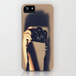 Taking pictures of you iPhone Case