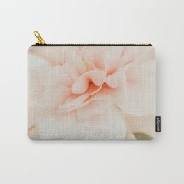 Burnt Orange Peony Carry-All Pouch