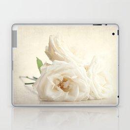 Three white roses Laptop & iPad Skin