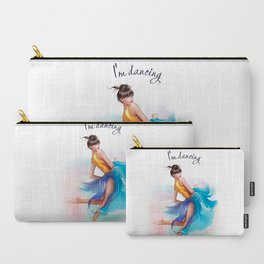 dancing ballerina2 Carry-All Pouch