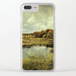 While we wait, we shine. Clear iPhone Case