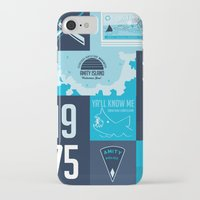 jaws iPhone & iPod Cases featuring Jaws! by tim weakland