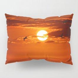 Red Sunset2 False Bay Pillow Sham