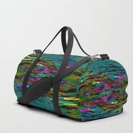 Evening Pond Rhapsody - Digital painting Duffle Bag