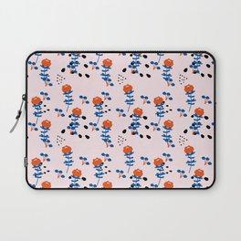 Illustrated Garden Pattern Laptop Sleeve