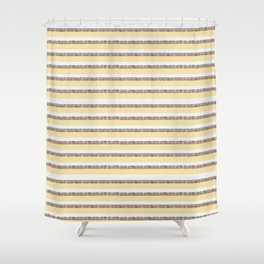 Honey Bee Pattern Shower Curtain