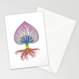 Chakra Tree Stationery Cards