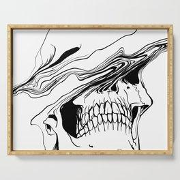 Skull #2 (Liquify) Serving Tray