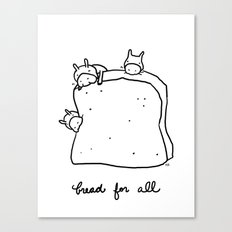 bread for all Canvas Print