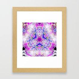 Holographic Matrix Framed Art Print