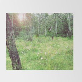meadow Throw Blanket