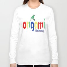 Origami: Deliberative Creasing Long Sleeve T-shirt