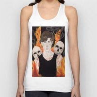 stephen king Tank Tops featuring Stephen by Alice Rachel