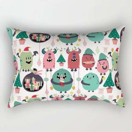 Monster xmas Rectangular Pillow