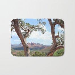 Arizona Horizon - Sedona Red Rocks Bath Mat