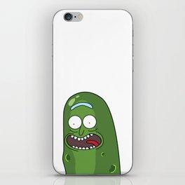 Pickle Rick Pocket! I'm Pickle Riiiiiiiick! iPhone Skin