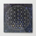 Flower of life in the space by azima
