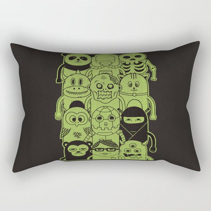 Famous Characters Rectangular Pillow