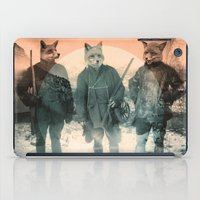 fox iPad Cases featuring Fox Hunt by Chase Kunz