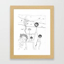 Malaise Framed Art Print