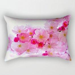 Cherry Blossom Tree So Pink Rectangular Pillow