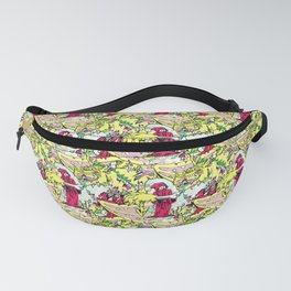 Alchemical Dragon Rot - Vector Repeat Pattern Fanny Pack