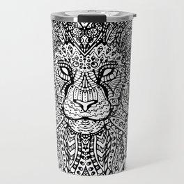 Lion Mandala Travel Mug