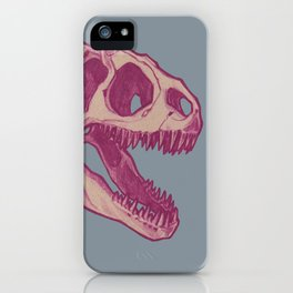 Allosaurus, Pink iPhone Case