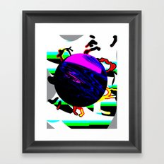 HYP3RB4LL Framed Art Print