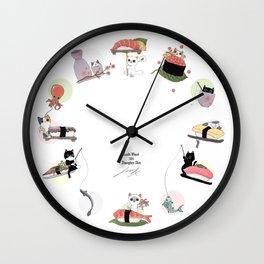 The Sushi Wheel Wall Clock
