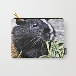 Painted Guinea Pig 3 Carry-All Pouch