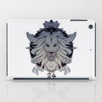 leo iPad Cases featuring leo by andrahilde