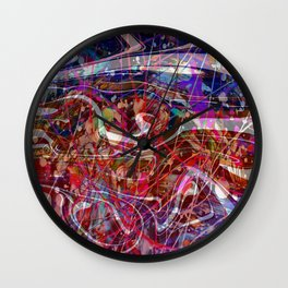 Exploring Different Paths of Life Wall Clock