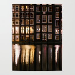Amsterdam houses 2. Poster