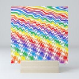 A Rhythmic Rainbow Mini Art Print