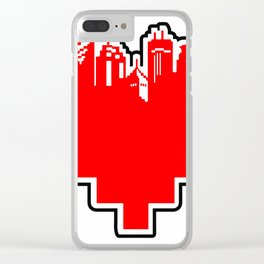 HeArt of the Cities Clear iPhone Case