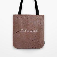 Cabernet Wine Red Travertine - Rustic - Rustic Glam Tote Bag