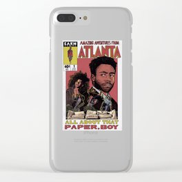 The Amazing Adventures in Atlanta Clear iPhone Case