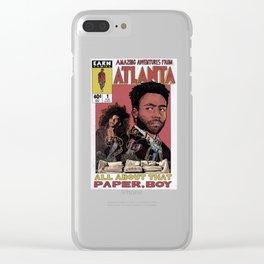 The Amazing Adventures in Atlanta Clear iPhone Case