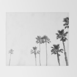 Tranquillity - bw Throw Blanket