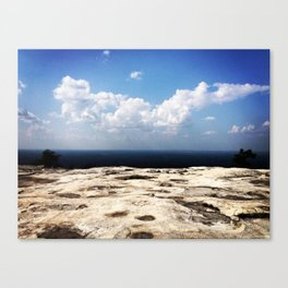 Stone Mountain Canvas Print